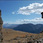 View from the top of Trail Ridge