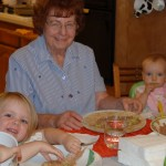 Grandma Doris & the girls