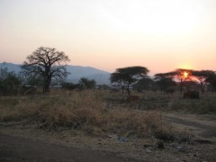 Sunrise in Maji Moto
